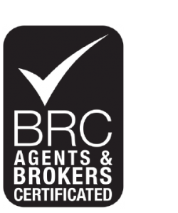 logo BRC Agents and brokers certificated