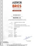 calidad certificado AENOR IBERLAND MACFONT